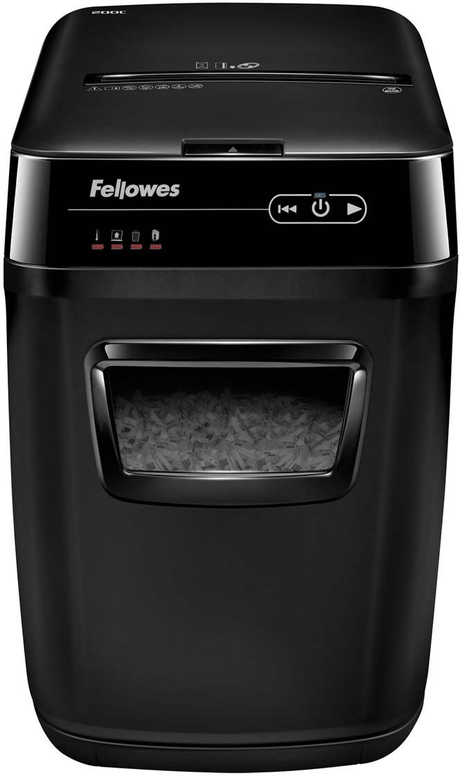 Fellowes AutoMax 200C, Black шредер - Офисная техника
