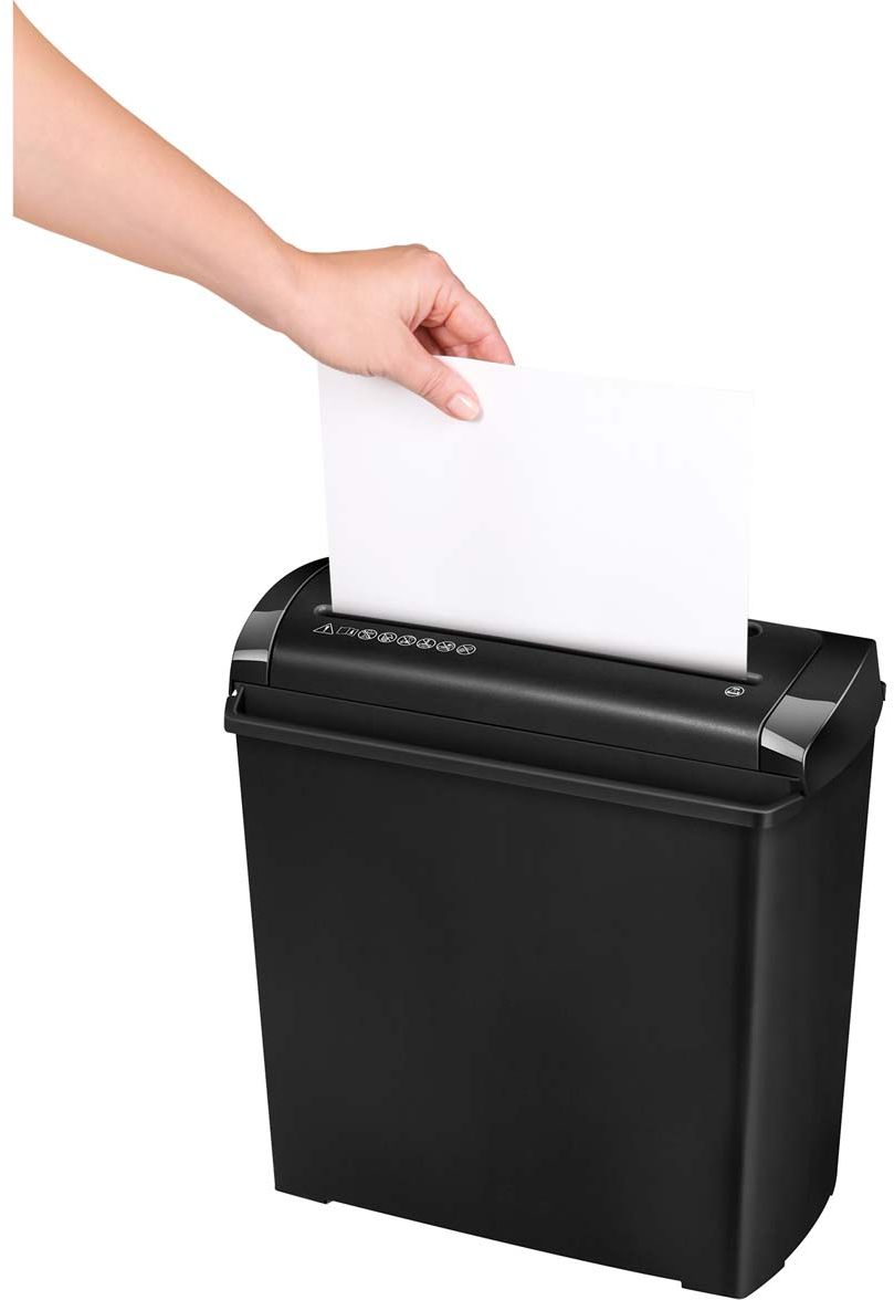 Fellowes Powershred P-25S шредер, Black fellowes powershred shredmate black шредер
