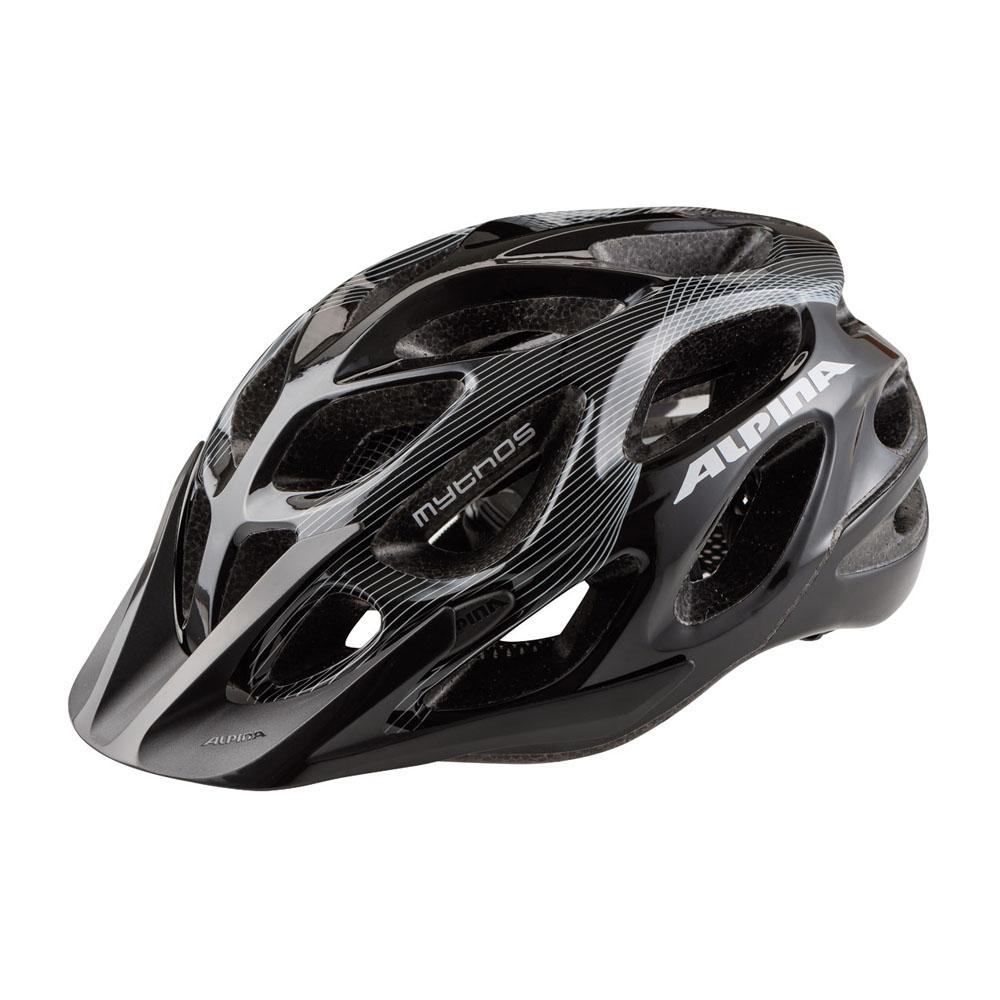 Шлем летний Alpina Mythos 2.0, цвет: белый, черный. Размер 57-62A9672120Топовый велошлемAlpina Mythos 2.0 обеспечивает наилучшую защиту и комфорт. Абсолютный бестселлер Alpina Mythos 2.0в новом дизайне. Матовое верхнее покрытие Ceramic Shell и покрытая мягкой резиной система регулировки. 25-вентиляционных отверстий. Технологии: Run System Ergo Pro, Ceramic Shell, Shield Protect. Вес: 250 гр. Легкий и аэродинамический дизайн Углубленная затылочная часть. Улучшенная система вентиляционных отверстий. Защитная сетка в передней части. Новый тип соединения внутренней части шлема и оболочки maxSHELL. Поворотный механизм Quick Save для регулировки и подгонки шлема по размеру. Ременная застежка-букля с возможностью быстрой подгонки ремешков. Съемный козырек. Конструкция: In-Mould Technology. Светоотражающие элементы.