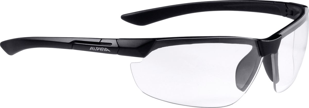 Очки солнцезащитные Alpina Draff, цвет: черный. 8558431 очки горнолыжные alpina carat sh цвет черный белый
