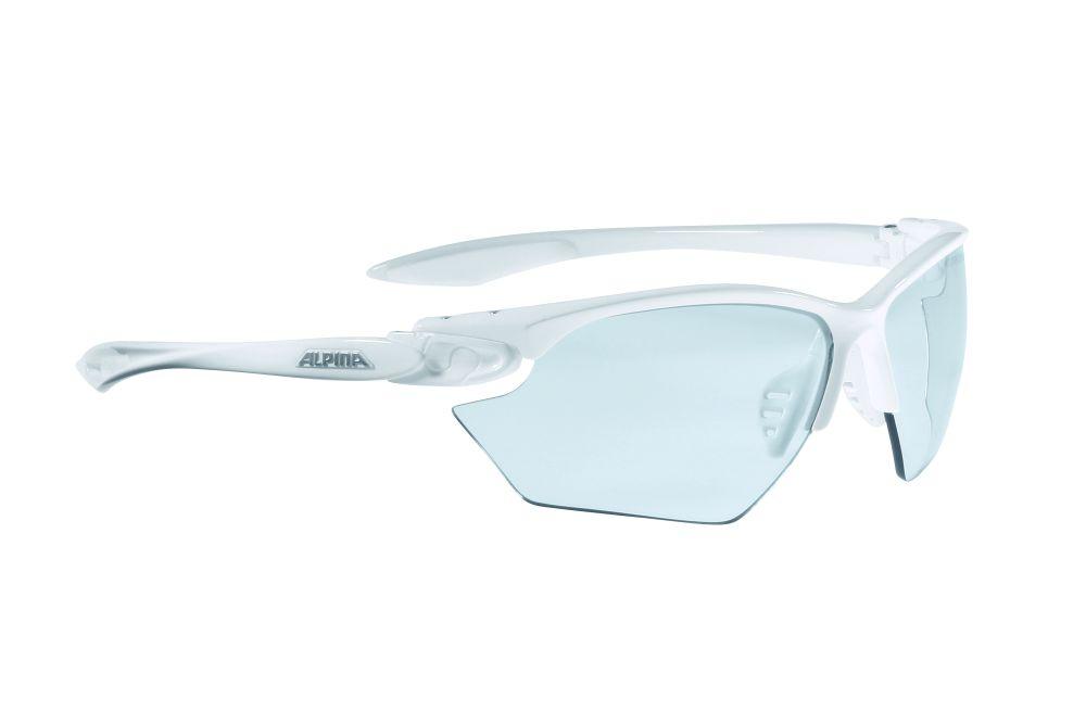 Очки солнцезащитные Alpina Twist Four S VL+, цвет: белый, прозрачный. 85071118507111Солнцезащитные очки Alpina Twist Four S VL+ предназначены как для езды на велосипеде, так и для многих других видов спорта.Имеют обработку, препятствующую запотеванию. Технологии: Optimized airflow, 2 components design, Adjustable nosepad, Fogstop