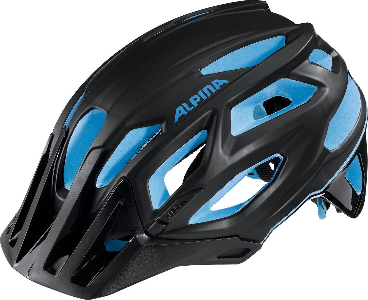 """Шлем летний Alpina """"Garbanzo"""" имеет легкий и аэродинамичный дизайн. Углубленная затылочная часть. Улучшенная система вентиляционных отверстий. Защитная сетка в передней части. Светоотражающие элементы. Система Run Ergo System Pro для регулировки и подгонки шлема по размеру.    Гид по велоаксессуарам. Статья OZON Гид"""