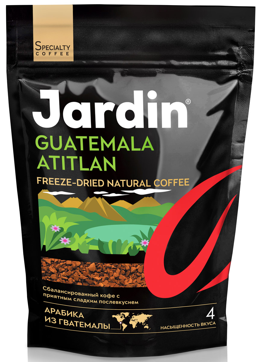 Jardin Guatemala Atitlan кофе растворимый, 150 г guatemala belize 1 500 000