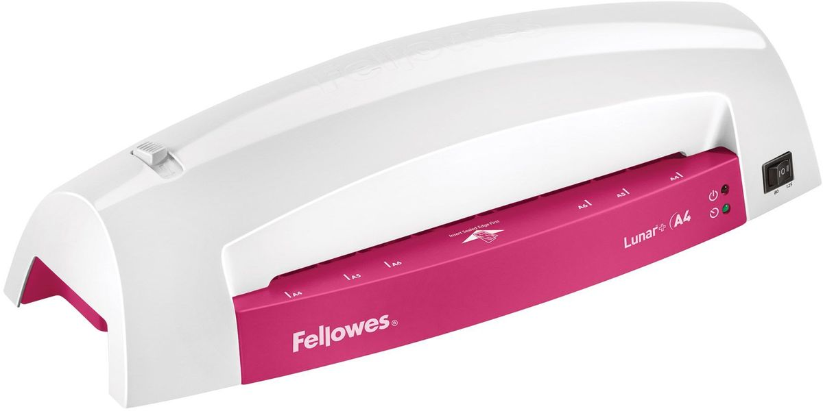 Fellowes Lunar + A4, Grey Fucsia ламинатор