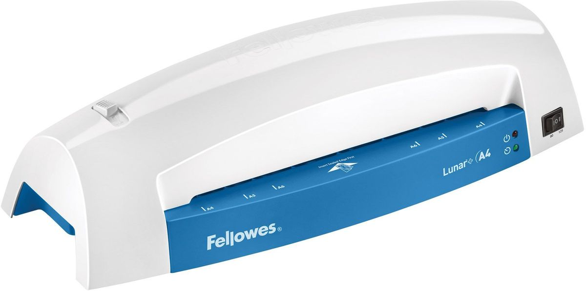 Fellowes Lunar+ A4, Grey Blue ламинатор ламинатор fellowes fs 57428 lunar grey blue