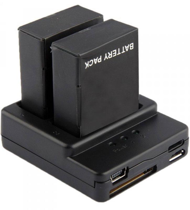 Eken BAT_CH_2 зарядное устройство для 2-х аккумуляторов для экшн камер