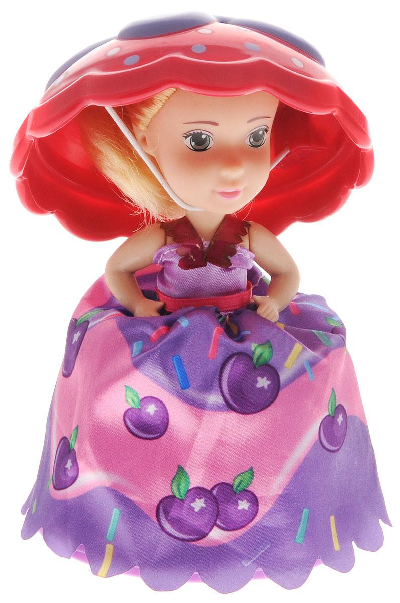 1TOY Мини-кукла Пироженка-Сюрприз цвет фиолетовый красный кукла пироженка сюрприз