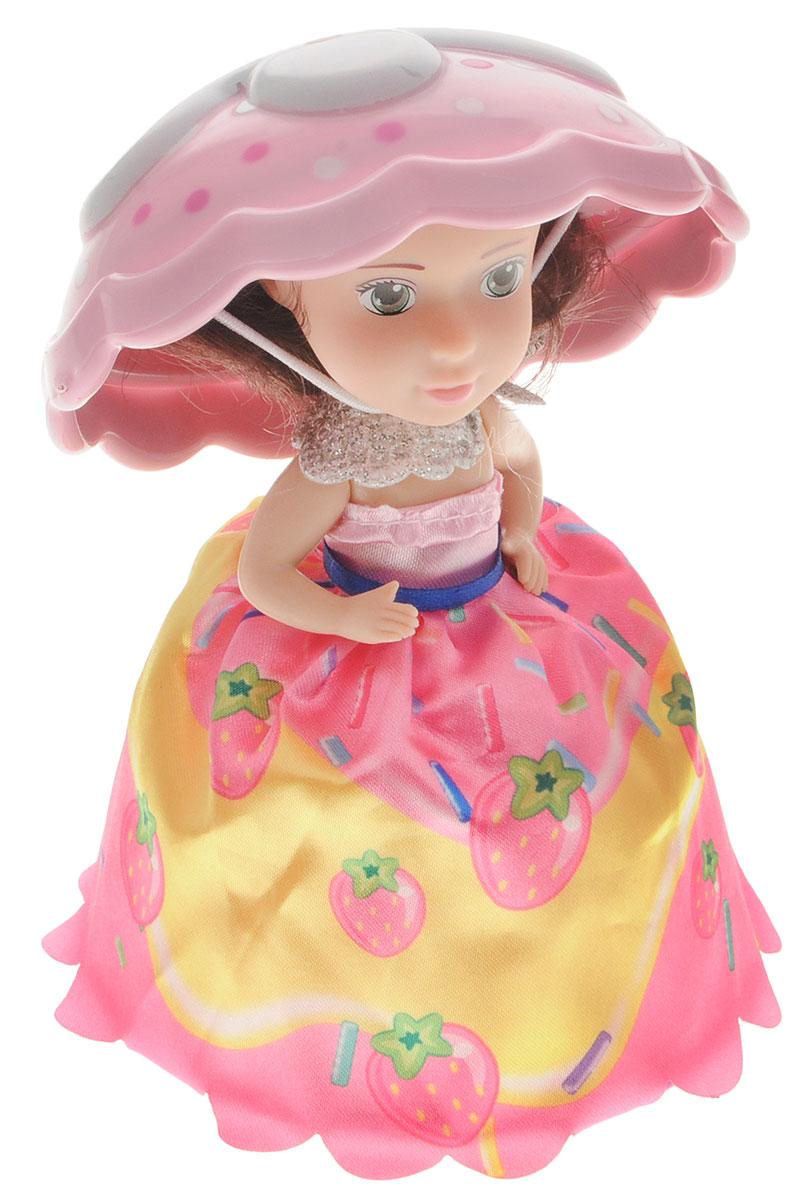 1TOY Мини-кукла Пироженка-Сюрприз цвет розовый белый кукла пироженка сюрприз