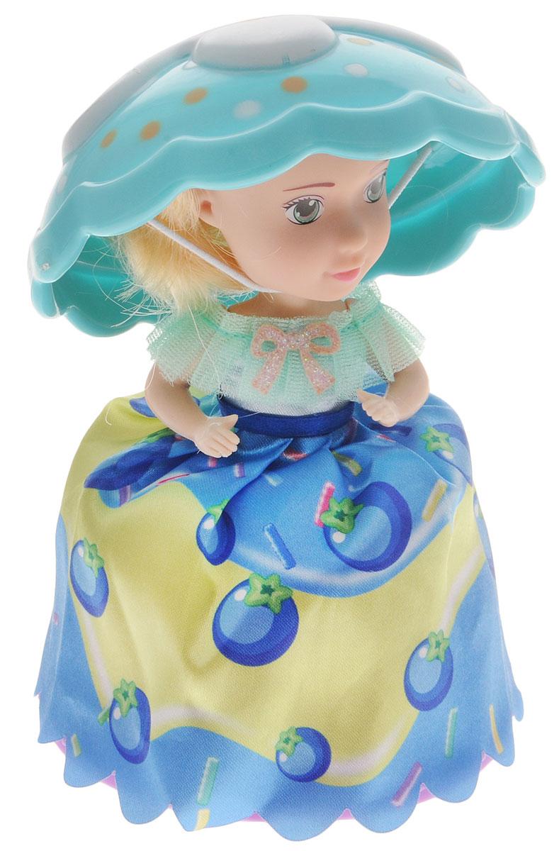 1TOY Мини-кукла Пироженка-Сюрприз цвет фиолетовый голубой кукла пироженка сюрприз