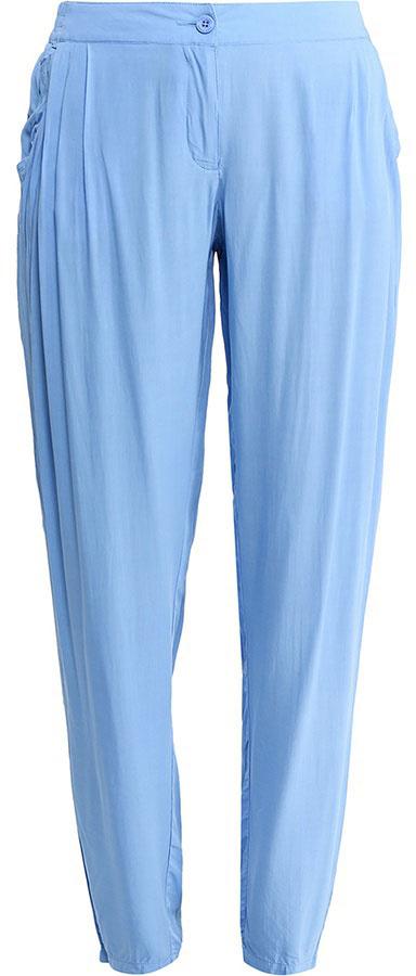 Брюки женские Finn Flare, цвет: голубой. S17-14031_119. Размер M (46) брюки женские finn flare цвет черный w16 170150 200 размер m 46