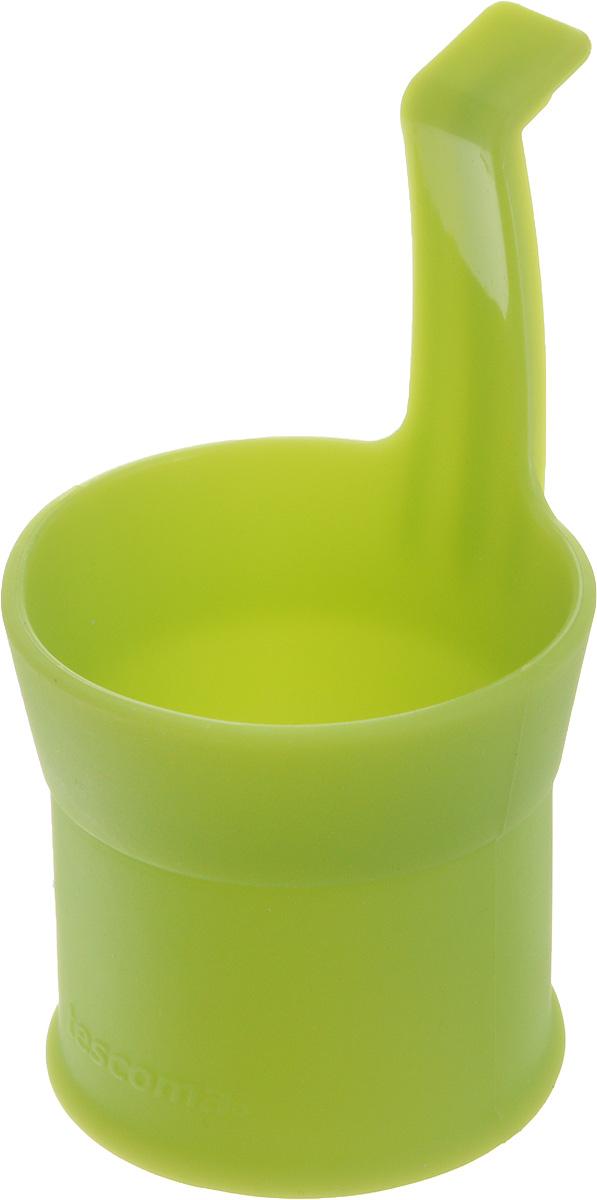 Форма для приготовления яиц-пашот Tescoma Fusion, цвет: зеленый638478Форма Tescoma Fusion выполнена из высококачественного термостойкого силикона. Изделие отлично подходит для приготовления яиц-пашот. Форма оснащена удобной ручкой.Форма выдерживает температуру от -40 до +230°C. Можно мыть в посудомоечной машине.