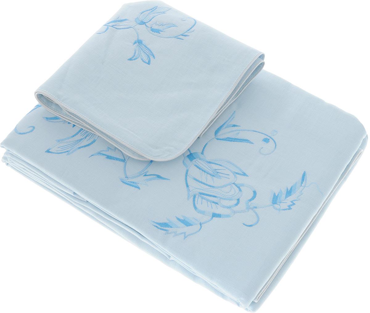 Комплект белья Гаврилов-Ямский Лен, 2-спальный, наволочки 70х70, цвет: голубой, синий5со5939_вышивка голубой,белыйКомплект постельного белья Гаврилов-Ямский Лен выполнен из 100% льна. Комплект состоит из пододеяльника, простыни и двух наволочек. Постельное белье, оформленное вышивкой и кантом, имеет изысканный внешний вид.Лен - поистине уникальный природный материал, экологичнее которого сложно придумать. Постельное белье из льнадаст вам ощущение прохлады в жаркую ночь и согреет в холода.Приобретая комплект постельного белья Гаврилов-Ямский Лен, вы можете быть уверены в том, что покупка доставит вам и вашим близким удовольствие и подарит максимальный комфорт.