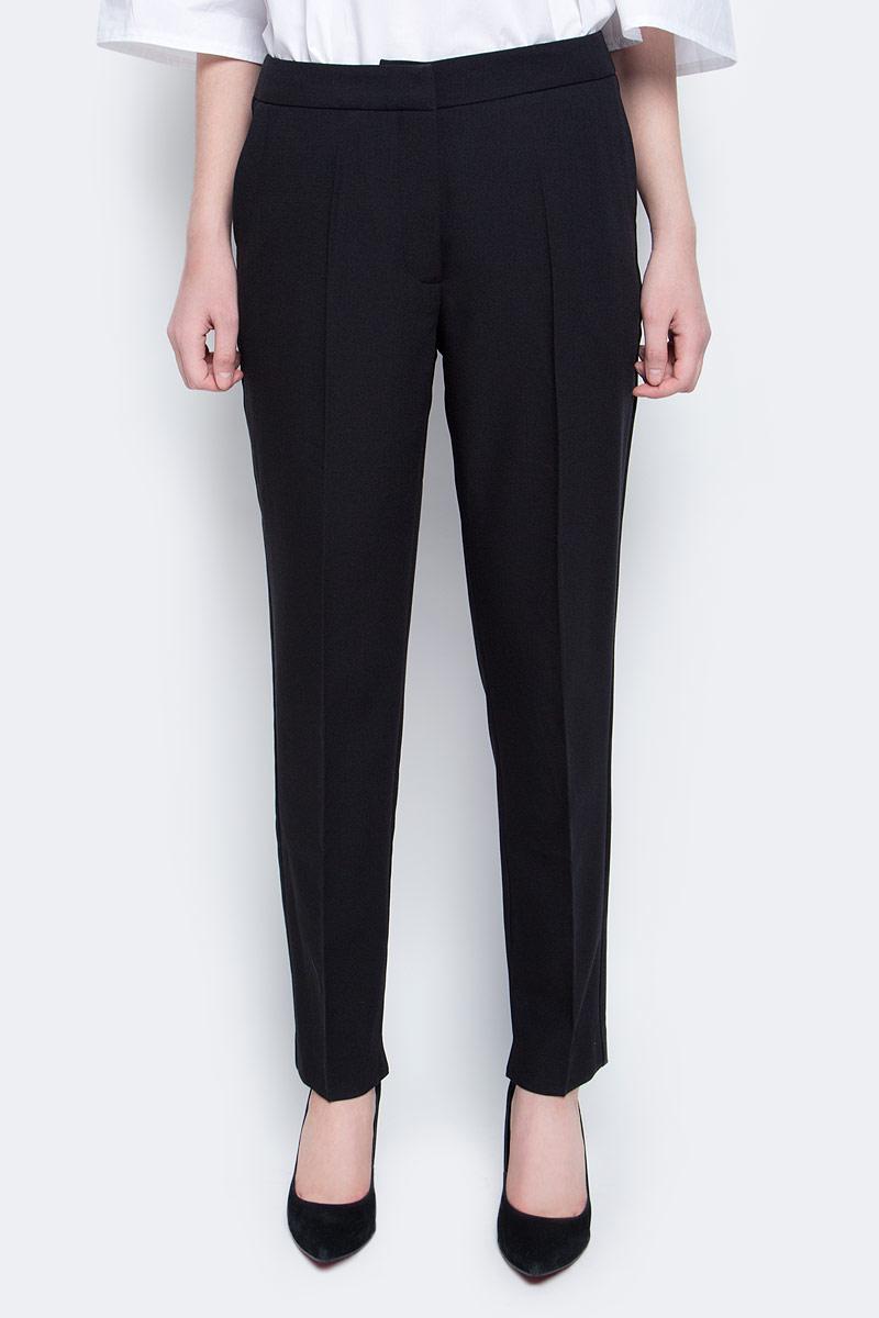Брюки женские Baon, цвет: черный. B297001_Black. Размер M (46) женские брюки лэйт темный размер 46