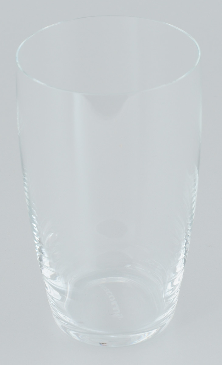 """Стакан Tescoma """"Crema"""" изготовлен из прочного прозрачного стекла. Такой стакан прекрасно дополнит сервировку стола и порадует вас практичностью и классическим дизайном.  Изделие можно мыть в посудомоечной машине. Диаметр (по верхнему краю): 8 см. Высота: 14 см."""