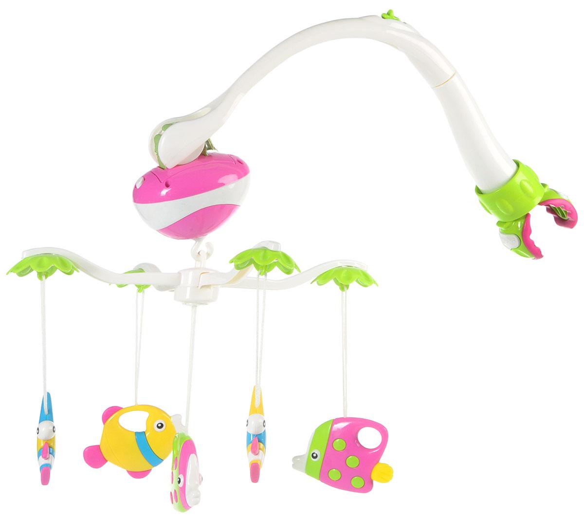 Veld-Co Музыкальная мобиль Рыбки - Игрушки для малышей