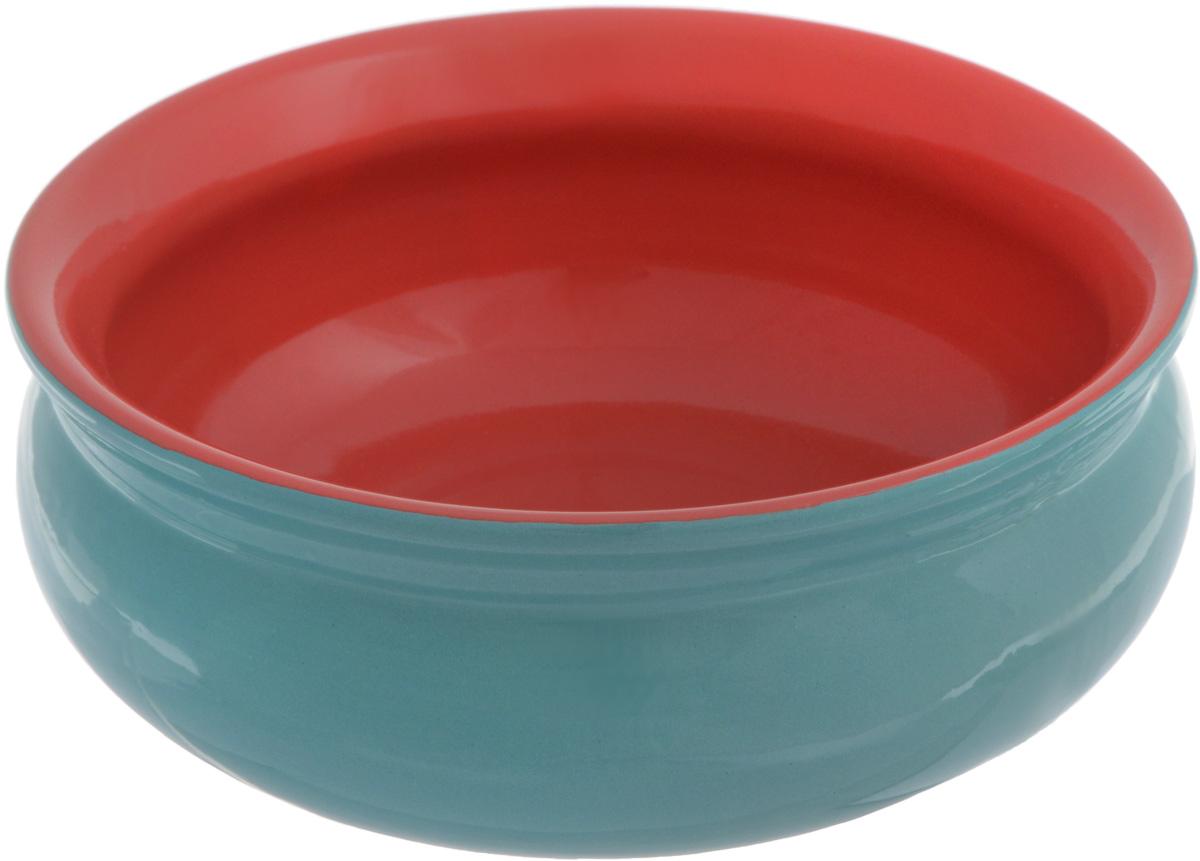 """Глубокая тарелка Борисовская керамика """"Скифская"""" выполнена  из керамики. Изделие сочетает в себе изысканный дизайн с  максимальной функциональностью. Она прекрасно впишется в  интерьер вашей кухни и станет достойным дополнением к  кухонному инвентарю.  Такая тарелка подчеркнет прекрасный вкус хозяйки и станет  отличным подарком.  Можно использовать в духовке и микроволновой печи.  Диаметр тарелки (по верхнему краю): 14 см.   Объем: 500 мл."""