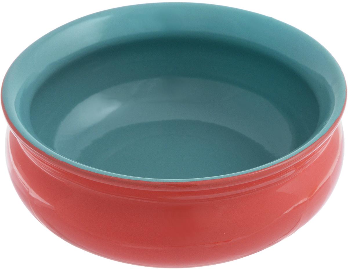Тарелка глубокая Борисовская керамика Скифская, цвет: красный, бирюзовый, 500 млРАД14458194_красный, бирюзовыйГлубокая тарелка Борисовская керамика Скифская выполнена из керамики. Изделие сочетает в себе изысканный дизайн с максимальной функциональностью. Она прекрасно впишется в интерьер вашей кухни и станет достойным дополнением к кухонному инвентарю. Такая тарелка подчеркнет прекрасный вкус хозяйки и станет отличным подарком. Можно использовать в духовке и микроволновой печи.Диаметр тарелки (по верхнему краю): 14 см.Объем: 500 мл.