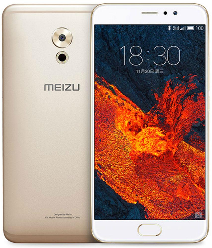 Meizu Pro 6 Plus 64GB, Gold White meizu m9 в китае