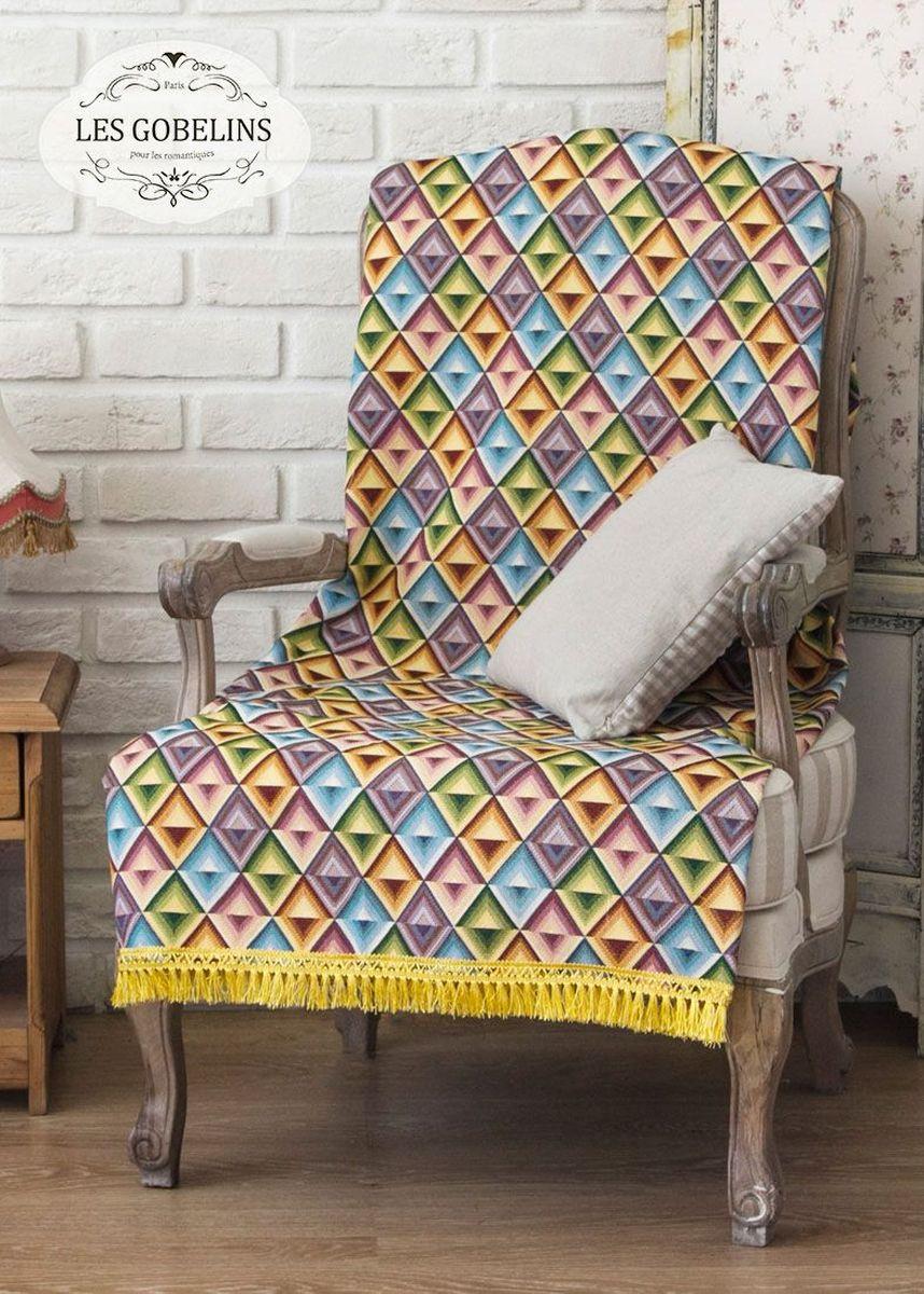 Покрывало на кресло Les Gobelins Kaleidoscope, 50 х 120 см покрывало на кресло les gobelins il aime degouts 50 х 120 см