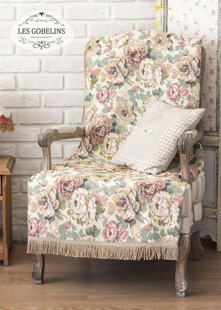 Покрывало на кресло Les Gobelins Fleurs Hollandais, 50 х 120 смlns186196Покрывало на кресло Les Gobelins Fleurs Hollandais с ярким цветочным рисунком привлечет к себе внимание и органично впишется в интерьер комнаты. Изделие изготовлено из высококачественной ткани гобелен и оформлено бахромой и кисточками. Необычайная красота сочетается в этом покрывале с высокой прочностью и долговечностью, а свойство гобелена по-разному проявлять себя в зависимости от освещения помещения позволяет открывать все новые и новые детали, которые, как казалось, раньше скрывал гобелен.Красочное и приятное на ощупь покрывало сделает интерьер спальни, детской или гостиной уютнее и своеобразнее. Состав материала: 52% хлопок, 48% полиэстер.