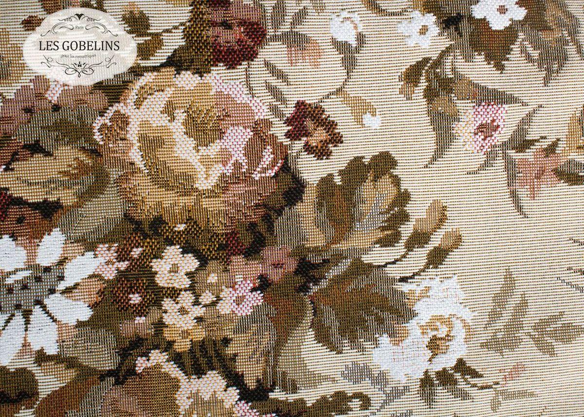 Покрывало на диван Les Gobelins Terrain Russe, 160 х 230 смlns187212Покрывало на диван Les Gobelins Terrain Russe с ярким цветочным рисунком привлечет к себе внимание и органично впишется в интерьер комнаты. Изделие изготовлено из высококачественной ткани гобелен и оформлено бахромой и кисточками. Необычайная красота сочетается в этом покрывале с высокой прочностью и долговечностью, а свойство гобелена по-разному проявлять себя в зависимости от освещения помещения позволяет открывать все новые и новые детали, которые, как казалось, раньше скрывал гобелен.Красочное и приятное на ощупь покрывало сделает интерьер спальни, детской или гостиной уютнее и своеобразнее. Состав материала: 5% хлопок, 95% полиэстер.