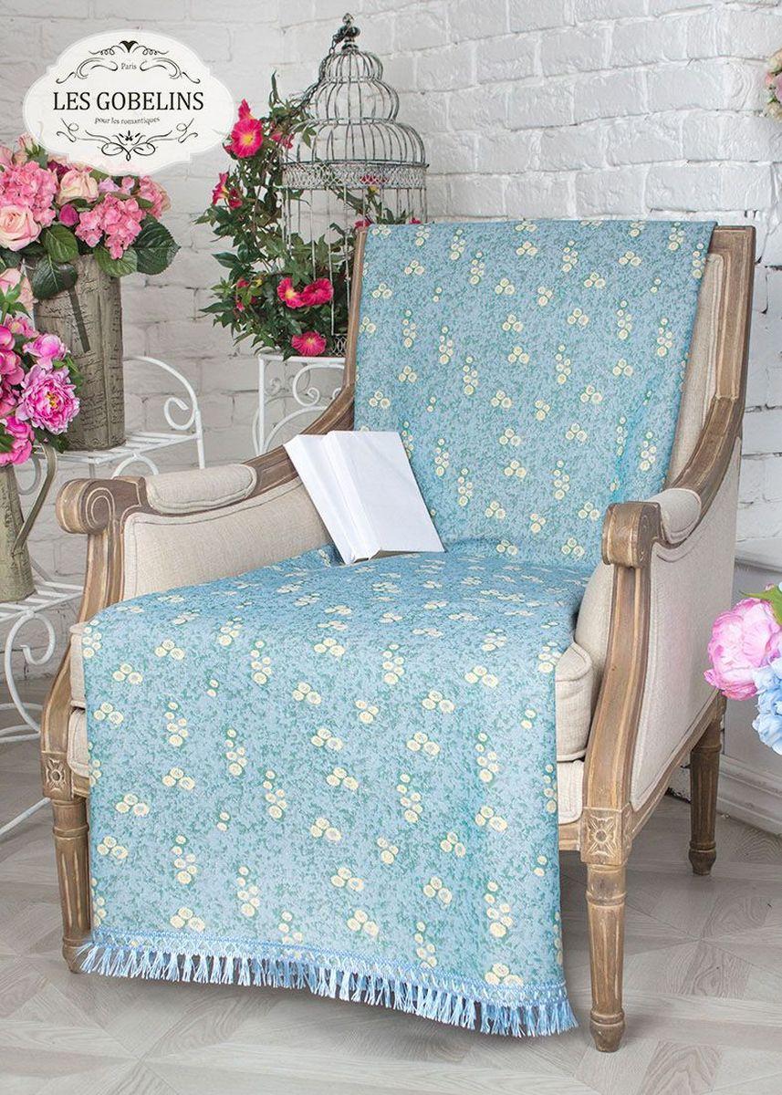 Покрывало на кресло Les Gobelins Atlantique, 50 х 120 смlns237783Покрывало на кресло Les Gobelins Atlantique с ярким цветочным рисунком привлечет к себе внимание и органично впишется в интерьер комнаты. Изделие изготовлено из высококачественной ткани гобелен и оформлено бахромой и кисточками. Необычайная красота сочетается в этом покрывале с высокой прочностью и долговечностью, а свойство гобелена по-разному проявлять себя в зависимости от освещения помещения позволяет открывать все новые и новые детали, которые, как казалось, раньше скрывал гобелен.Красочное и приятное на ощупь покрывало сделает интерьер спальни, детской или гостиной уютнее и своеобразнее. Состав материала: 50% хлопок, 50% полиэстер.