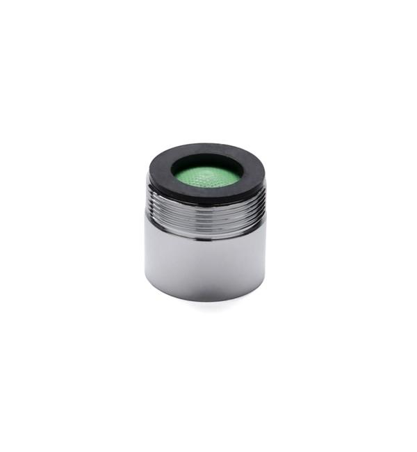 SoWash Металлический фильтр переходник (с внешней резьбой)17Аэрационный фильтр с переходником SoWash позволяет соединить систему SoWash с краном и обычно использовать кран, с фильтрацией и вентиляцией воды. Фильтр SoWash специально приспособлен для всех кранов согласно норм Uni-En 246, подходит к женской резьбе (внутренней).В упаковке содержится:- 1 металлический фильтр.