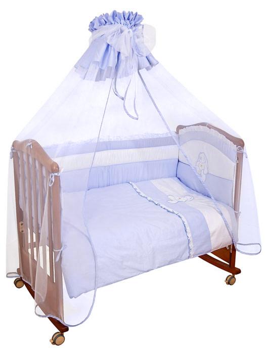 Сонный Гномик Бампер в кроватку Пушистик цвет светло-сиреневый -  Бортики, бамперы