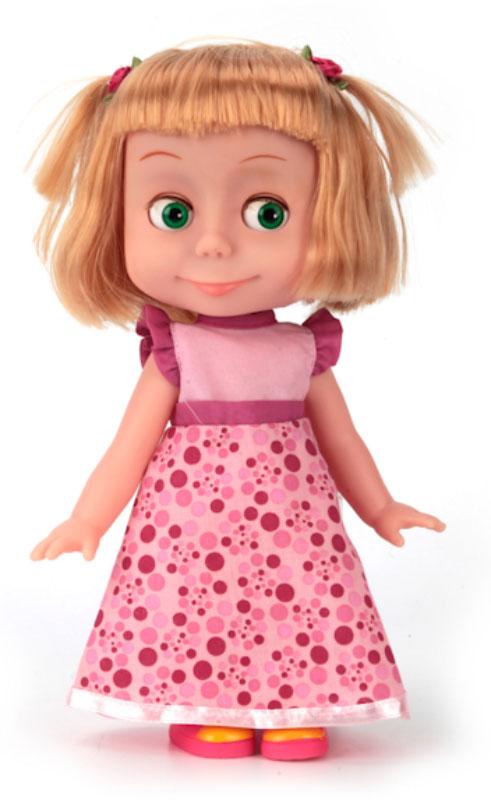 Карапуз Кукла озвученная Маша День рождения карапуз кукла маша 15 см со звуком маша и медведь карапуз