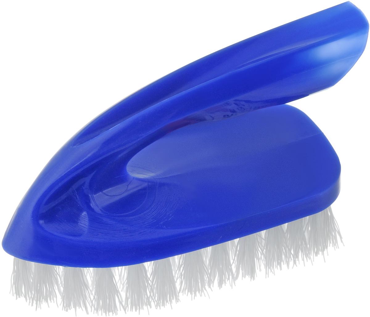 Щетка для одежды Svip Утюжок Макси. Классика, цвет: синий, 13 х 6 х 8,5 смSV3099СНЩетка Svip Утюжок Макси. Классикаизготовлена из высокопрочного пластика и предназначена для удаления ворсинок, волос, пыли и шерсти животных, с различных поверхностей. Может использоваться для мягкой мебели и салона автомобиля.Ручка, расположенная сверху, сделана как у утюжка, обеспечивает удобство при работе с ней.Щетина средней жесткости не повреждает поверхность.Благодаря качественной щетине, щетка прослужит долгое время.Щетка Svip Утюжок Макси. Классика, станет незаменимым аксессуаром в вашем доме или автомобиле.Длина щетины: 2,5 см, Размер щетки: 13 х 6 х 8,5 см.