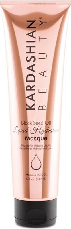 Kardashian Beauty Маска для волос с экстрактом семян черного тмина/ KB-  Black Seed Oil Liquid Hydration Masque, 5oz/148мл фл. маска chi black seed oil liquid hydration masque