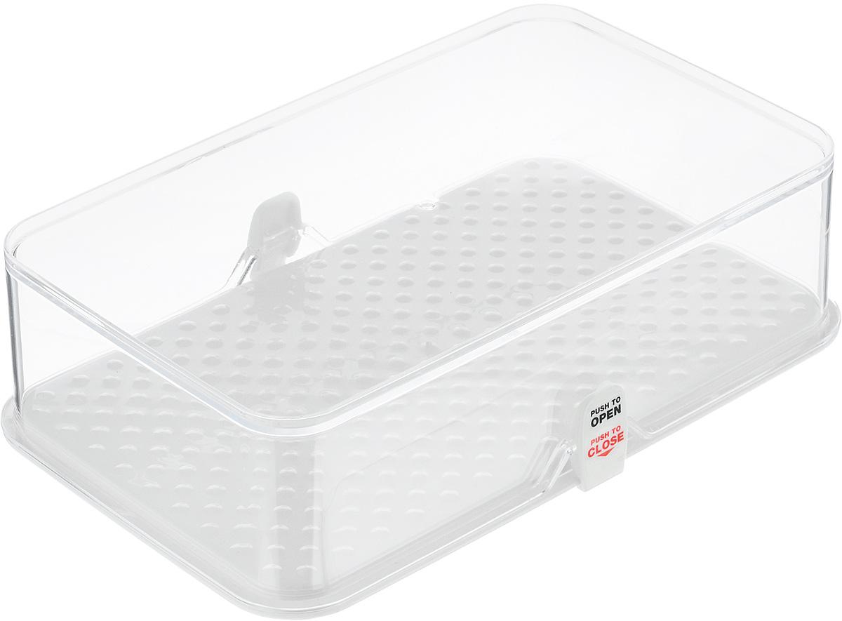 Kонтейнер для холодильника Tescoma Purity, 22 х 13,5 х 6 см891822Kонтейнер Tescoma Purity выполнен из высококачественного пищевого пластика, который используется в здравоохранении и фармацевтики. Изделие отлично подходит для гигиеничного хранения продуктов в холодильнике. Используемый материал не влияет на качество продуктов даже при длительном хранении. В комплекте имеются запасные замки-крылышки.Можно мыть в посудомоечной машине.