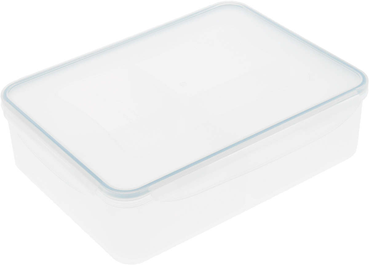 Контейнер Tescoma Freshbox, прямоугольный, 1,5 л892066Контейнер Tescoma Freshbox, изготовленный из прочного пластика, отлично подходит для хранения и разогрева блюд. Герметичная крышка имеет силиконовый уплотнитель, пища остается свежей дольше и не протекает при перевозке. Подходит для холодильника, морозильных камер, микроволновой печи и посудомоечной машины.Размер контейнера: 21 х 14 х 7 см.