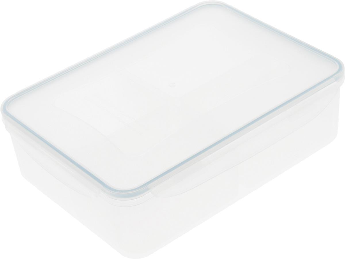 Контейнер Tescoma Freshbox, с мисками, 3,7 л892070Контейнер Tescoma Freshbox, изготовленный из прочного пластика, отлично подходит для хранения и разогрева блюд. Герметичная крышка имеет силиконовый уплотнитель, пища остается свежей дольше и не протекает при перевозке. В комплекте с контейнером прилагаются 4 миски. Они предназначены для раздельного хранения различных блюд в одном контейнере.Подходят для холодильника, морозильных камер, микроволновой печи и посудомоечной машины.Размер контейнера (с учетом крышки): 29,5 х 22 х 8,5 см.Размер миски: 16,5 х 10 х 6,2 см.
