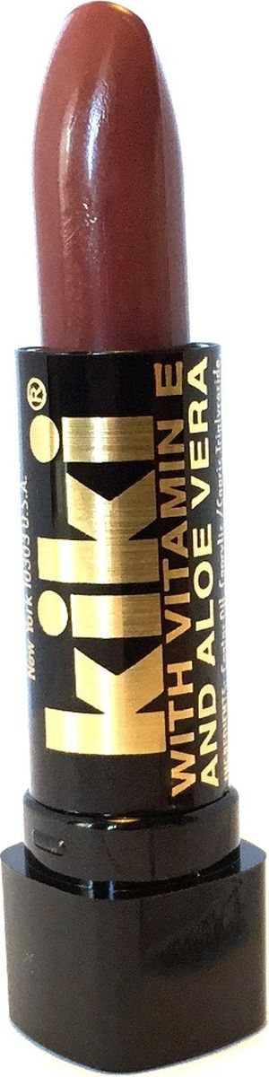 Kiki Помада с aloe & vit E 034 MILK CHOCOLATE, 4 гр10101034В состав классической губной помады KIKI введены группы витаминов и масел, которые защищают, разглаживают, смягчают губы и усиливают передачу глубины цвета. Благодаря особым молекулярным соединениям, помада легко наносится и ровно ложится на губы.