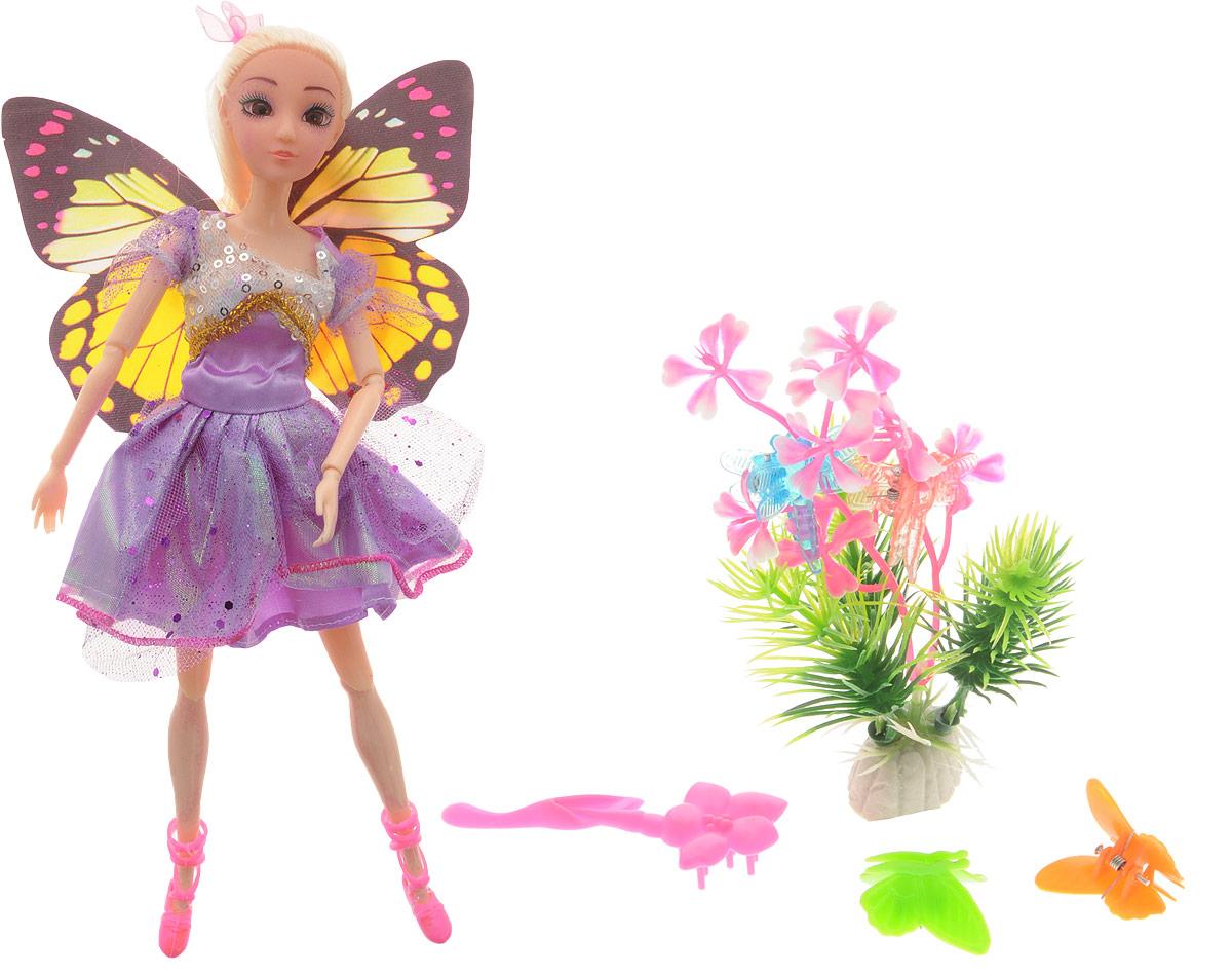 Veld-Co Кукла Фея цвет платья фиолетовый veld co игровой набор с куклой фея