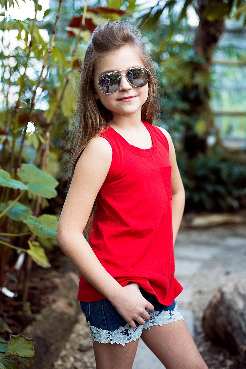 Шорты для девочки Luminoso, цвет: синий. 718120. Размер 134 платье для девочки luminoso цвет синий белый 718102 размер 134