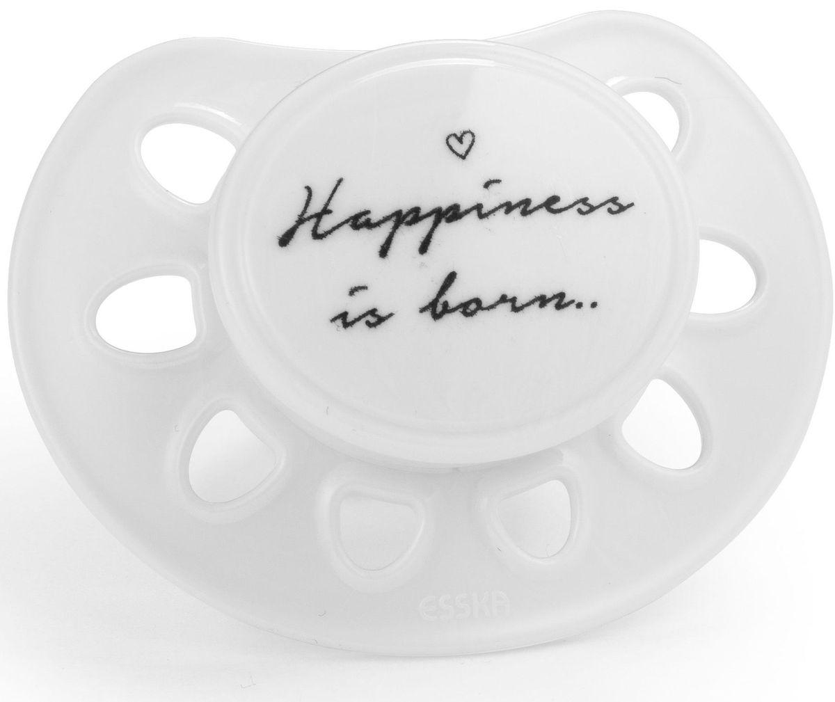Elodie Details Пустышка Happiness Is Born от 0 до 6 месяцев 2 шт happiness толстовка