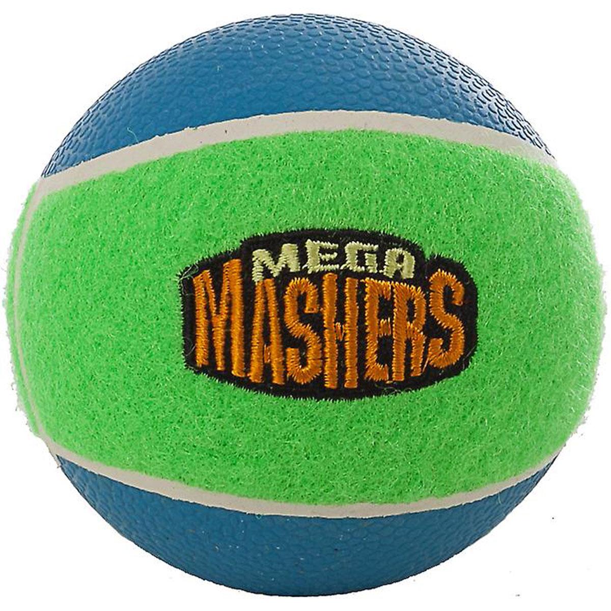 Игрушка для собак Mega Mashers Мячик, диаметр 8 см игрушка для животных каскад мячик пробковый диаметр 3 5 см