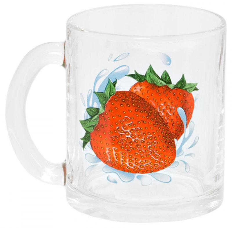 Кружка OSZ Чайная. Клубника, 320 мл04C1208-KLKКружка OSZ Чайная. Клубника изготовлена из термостойкого стекла и украшена ярким рисунком. Изделие оснащено удобной ручкой и сочетает в себе лаконичный дизайн и функциональность. Идеально подойдет для чая и других горячих напитков. Яркий принт поднимет настроение вам и вашим гостям!Кружка OSZ Чайная. Клубника не только украсит ваш кухонный стол, но и подчеркнет прекрасный вкус хозяйки.Диаметр кружки: 7,5 см. Высота кружки: 9,5 см.Объем: 320 мл.