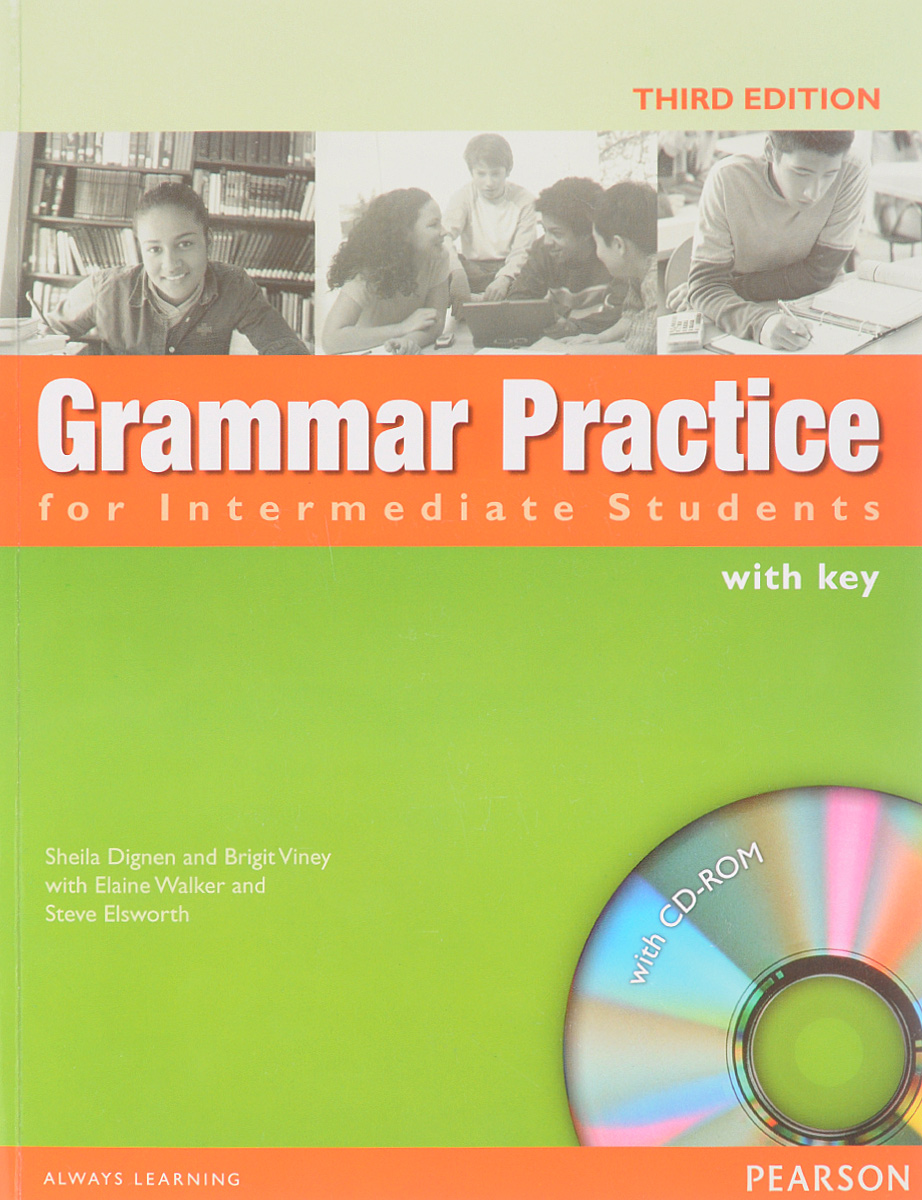 Grammar Practice for Intermediate Students with Key (+ CD)