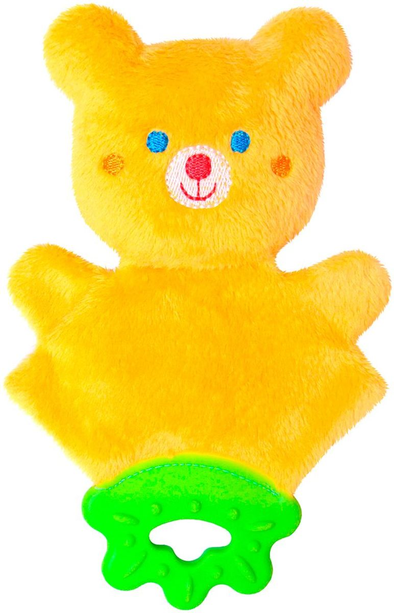 Мякиши Погремушка ШуМякиши Мистер Тед с прорезывателем игрушка погремушка мякиши медвежонок колечко