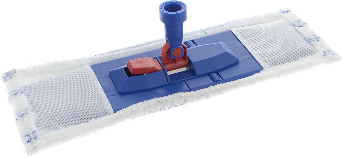 Насадка на швабру Svip Евро, 44 х 15 смSV3878-10РSНасадка на швабру Svip Евро предназначена для влажной уборки полов. Идеально подходит для уборки больших поверхностей. Насадка великолепно собирает пыль и грязь, впитывает влагу, не оставляет разводов. К швабре подходят стандартные черенки любого размера.Размер насадки: 44 х 15 см.Диаметр отверстия для черенка: 2,3 см.