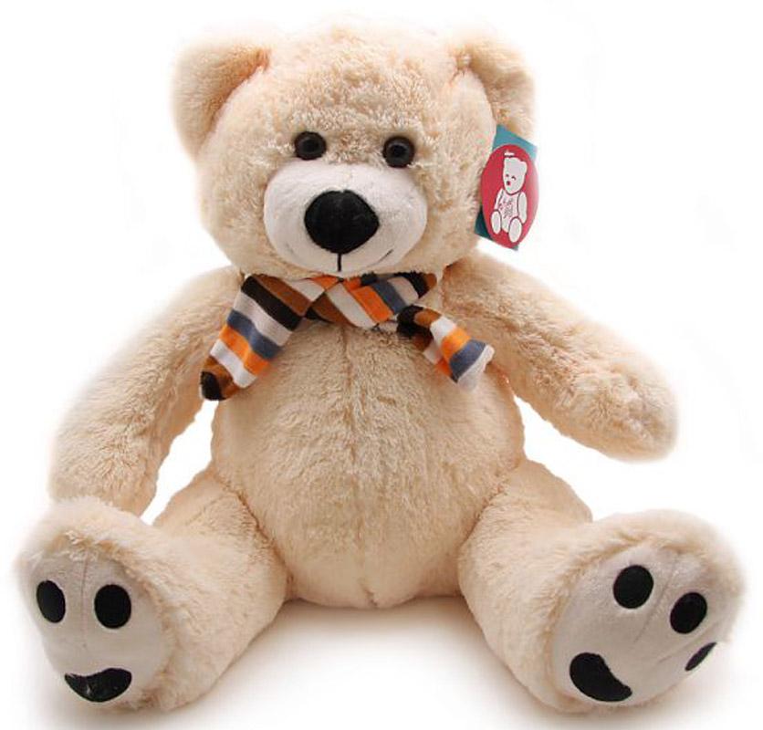 Magic Bear Toys Мягкая игрушка Медведь в шарфе 90 см magic bear toys мягкая игрушка ослик чарли 27 см
