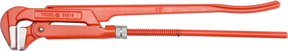 Ключ трубный Vorel, 1, 90 градусов55215Ключ трубный используется для монтажа и демонтажа у трубных резьбовых соединений. Ключ эффективен в работе благодаря его специальной усиленной конструкции. Специально разработанный угол наклона зубцов позволяет выполнить максимально возможное усилие захвата.