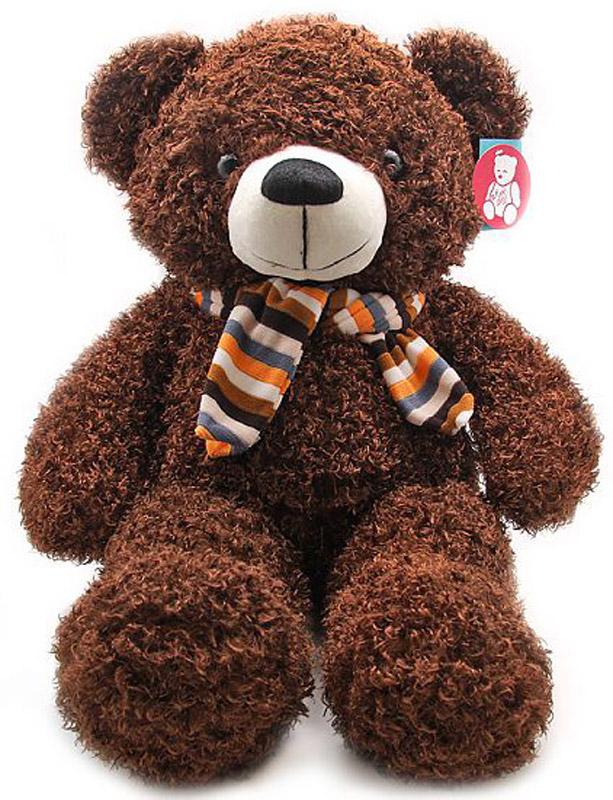 Magic Bear Toys Мягкая игрушка Медведь в шарфе 70 см magic bear toys мягкая игрушка ослик чарли 27 см