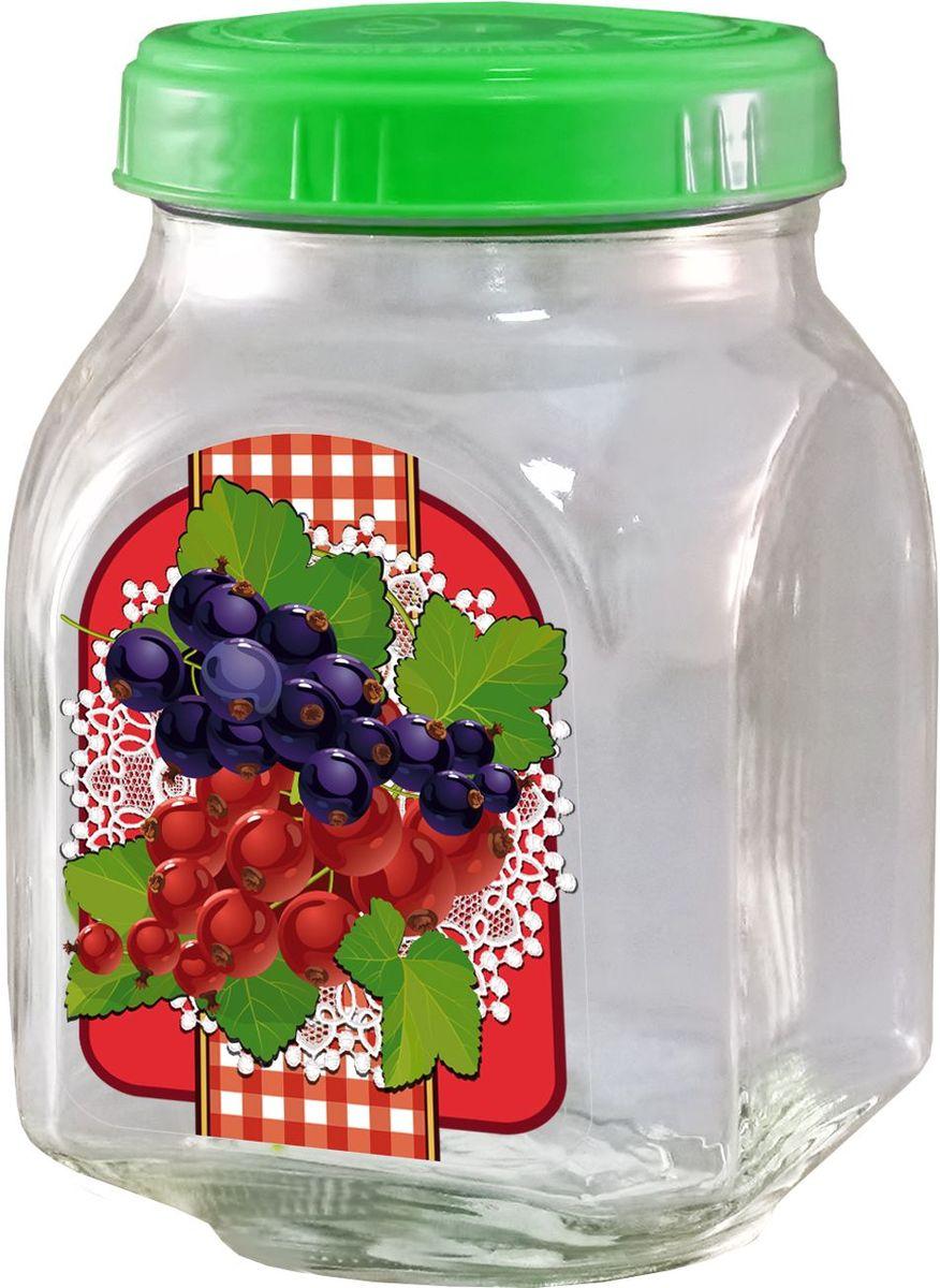Банка для хранения варенья Квестор Смородина, c крышкой, 800 мл. 626-018626-018Банка Квестор Смородина, изготовленная из стекла, прекрасно подойдет для консервирования и хранения варенья, а особенно смородинового, поскольку внешние стенки оформлены изображением этих ягод. Емкость снабжена пластиковой крышкой, которая плотно и герметично закрывается, дольше сохраняя аромат и свежесть содержимого. Банка Квестор Смородина станет полезным приобретением и пригодится на любой кухне.Высота банки: 14 см.Диаметр (по верхнему краю): 7,5 см.Уважаемые клиенты! Обращаем ваше внимание на возможные изменения в цвете крышек. Поставка осуществляется в зависимости от наличия на складе.