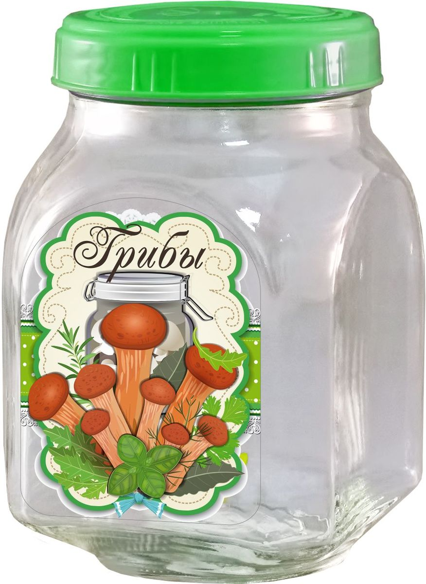 Банка из бесцветного стекла для консервированной пищевой продукции. В том числе для сыпучих пищевых продуктов.