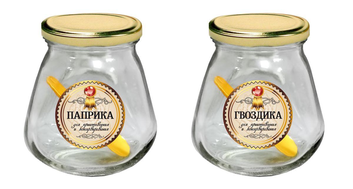 Набор для хранения Квестор Соль и Перец, 260 мл, 4 предмета. 626-056626-056Набор для хранения Квестор состоит из 2 банок, выполненных из бесцветного стекла, с закручивающимися крышками и 2 ложек. Они предназначены для хранения пищевых продуктов. Банки удобно использовать и легко мыть. Прозрачный корпус оставляет видимым содержание, и вы без труда найдете нужный продукт. Набор послужит незаменимым предметом бытового назначения для ваших любимых, родных и близких.