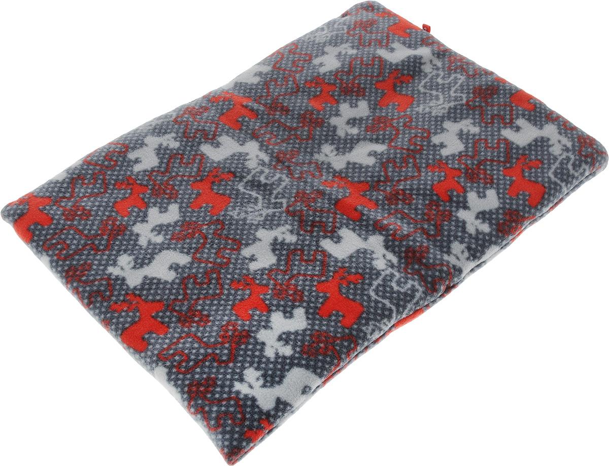 Лежак-коврик для животных Zoobaloo Олени, 50 х 40 см1125Великолепный флисовый лежак-коврик Zoobaloo - это отличный аксессуар для вашего питомца, на котором можно спать, играться и снова, приятно устав, заснуть. Он идеально подходит для полов с любым покрытием. Изделиеподдерживает температурный баланс вашего питомца в любоевремя года. Наполнитель выполнен из синтепона.